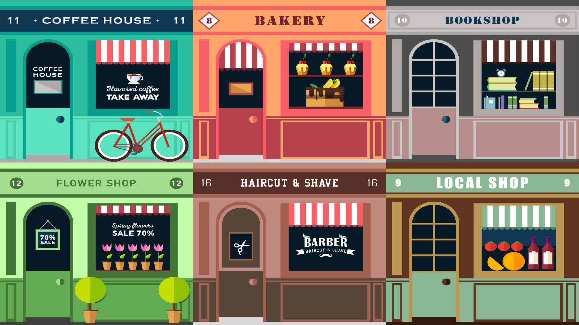 Small Business Shops
