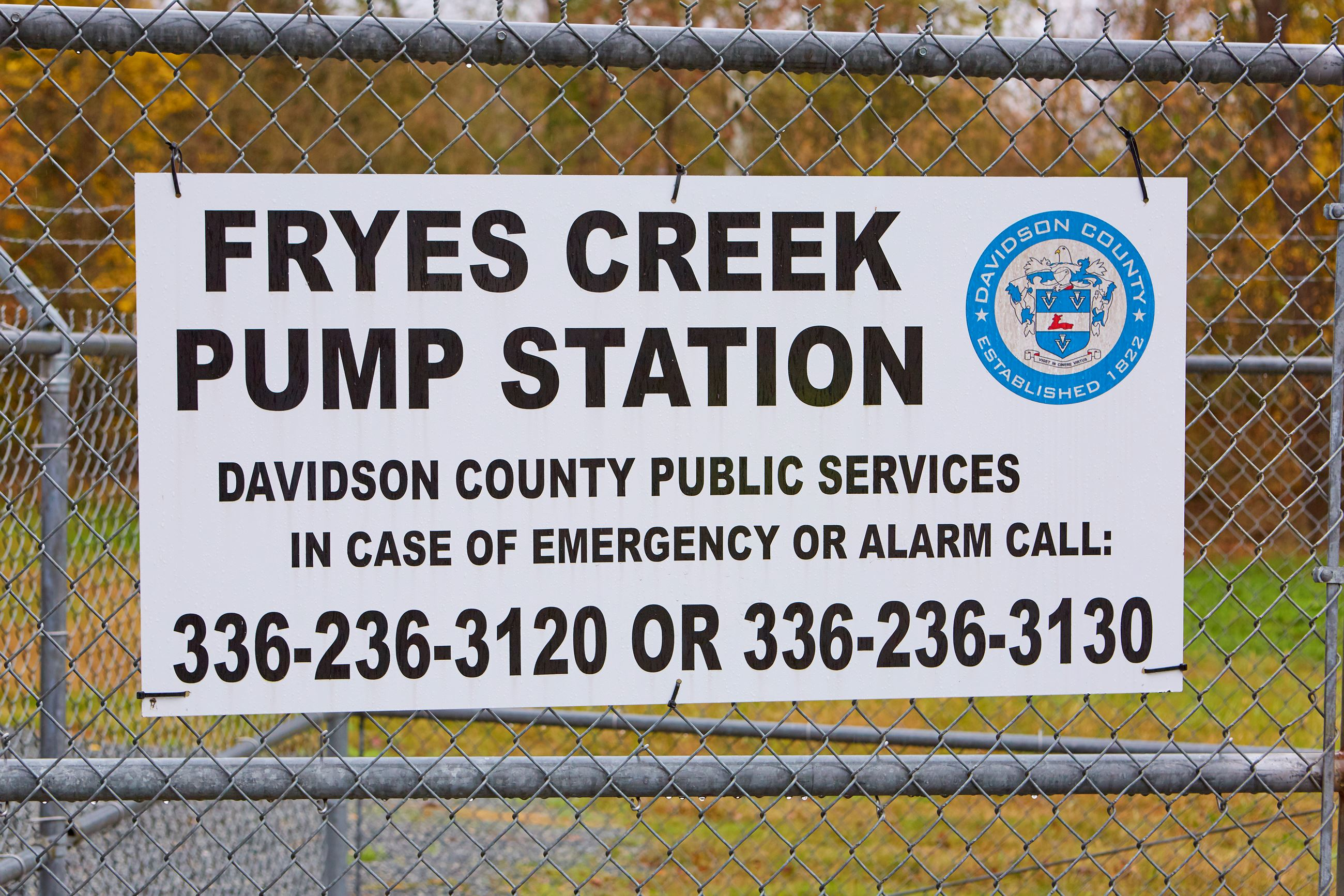 Fryes Creek Sign